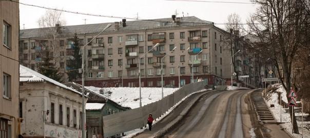 Спуск ул.Горького