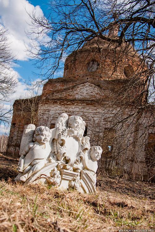 Елисеевичи, церковь Николая Чудотворца