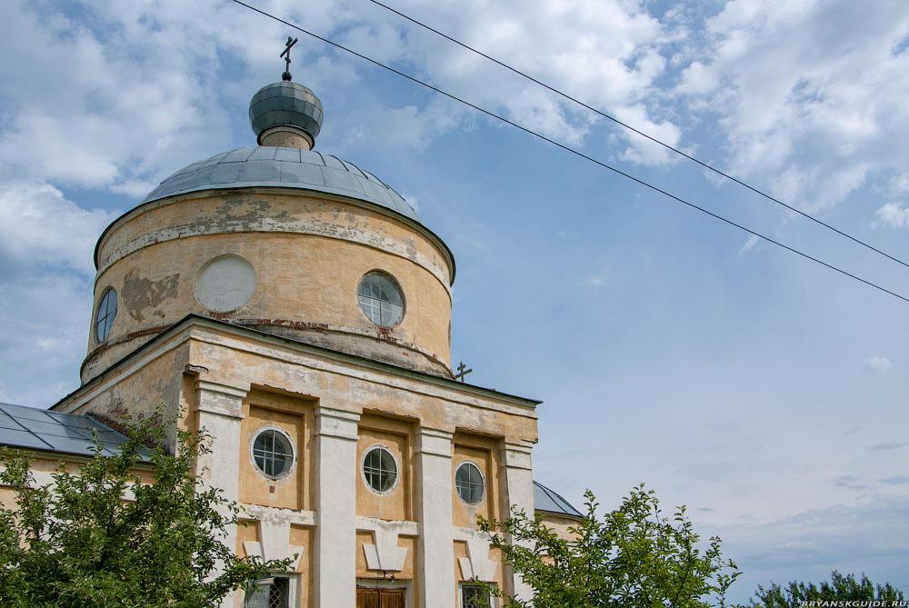 Рябчёвск, Церковь Митрофана (июнь 2009)