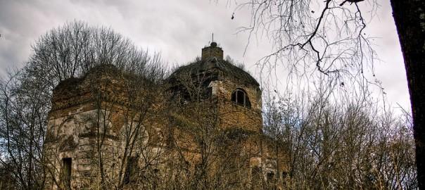 Великий Бор, Церковь Вознесения