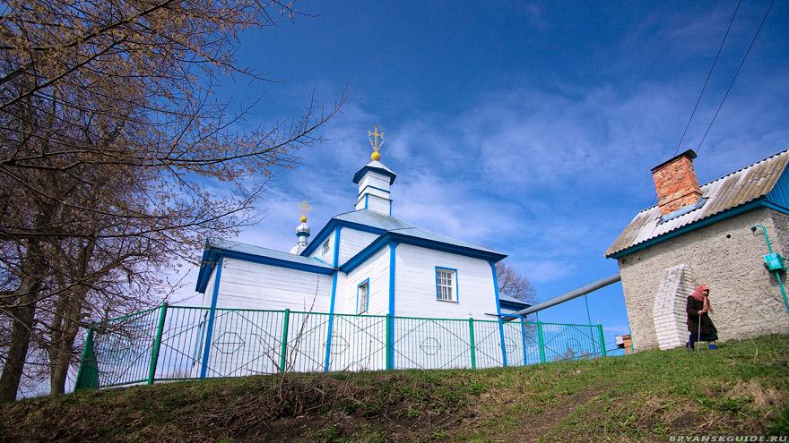 Курово. Церковь Николая Чудотворца