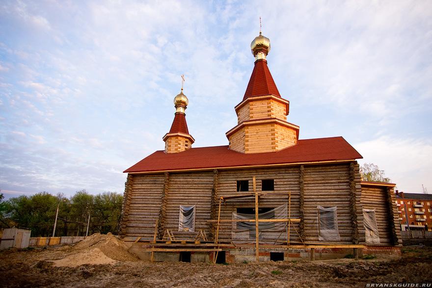 строительство Свято-Троицкого собора в Брянске
