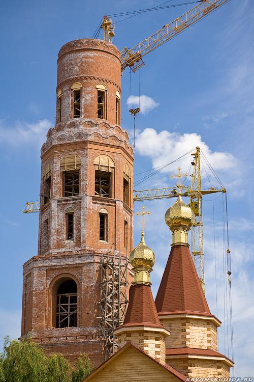 Крест Троицкого собора, Брянск