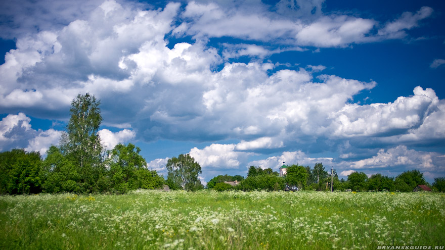 село Голубея