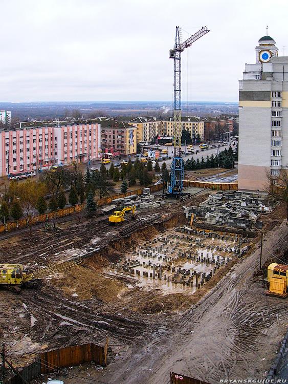 Стройка дома пл.Партизан 1 (9)