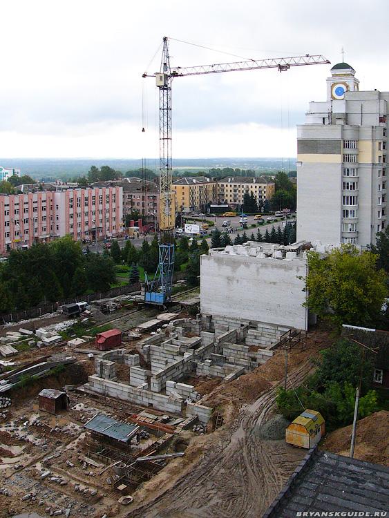 Стройка дома пл.Партизан 1 (8)