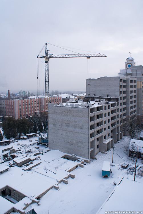 Стройка дома пл.Партизан 1 (4)