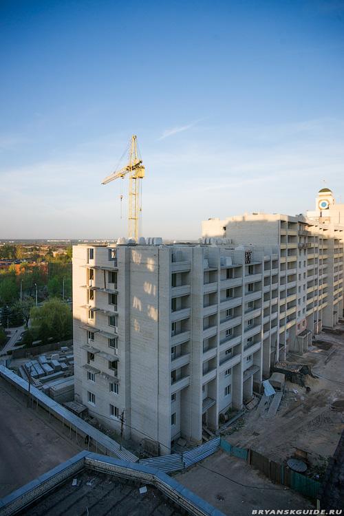 Стройка дома пл.Партизан 1 (2)