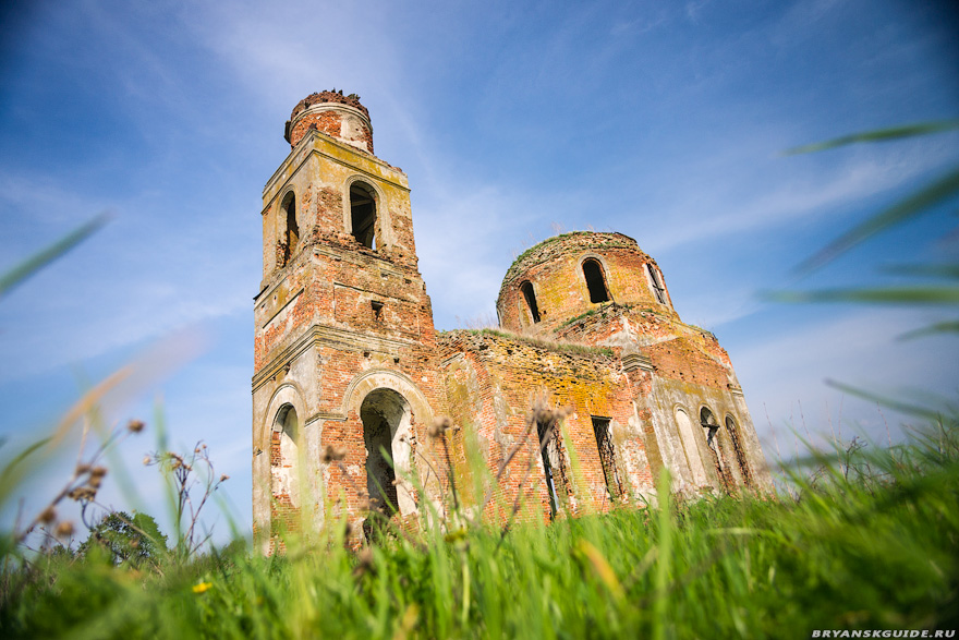 Барышье, церковь Косьмы и Дамиана