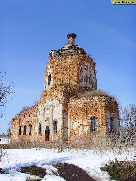 Княвичи. Церковь Рождества Пресвятой Богородицы