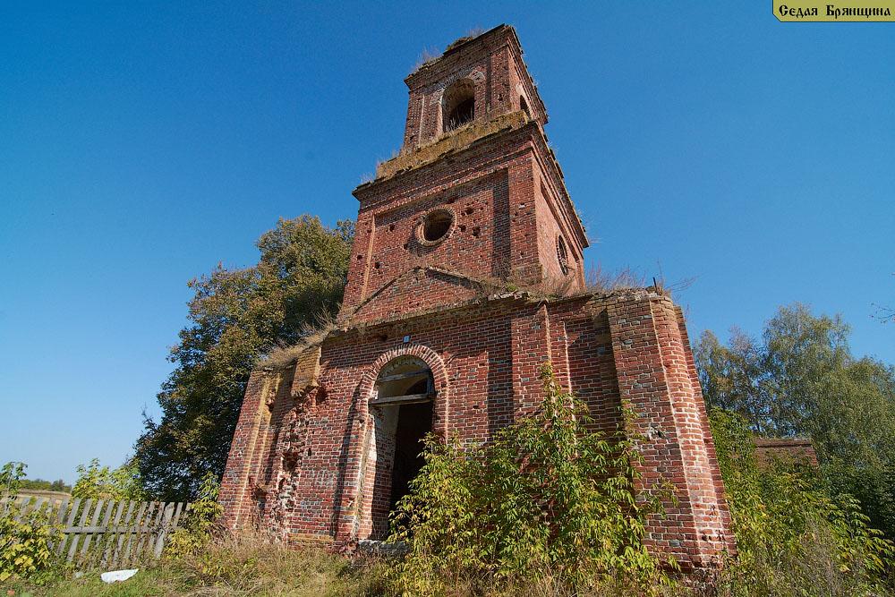 Алешенка. Церковь Михаила Архангела