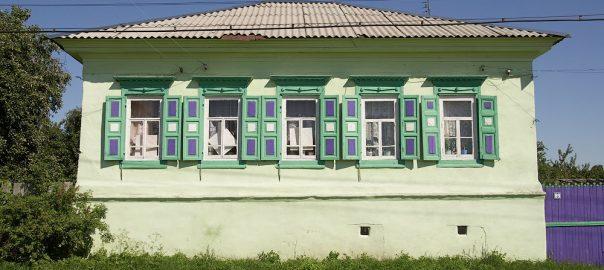 Елионка. Здания жилые и общественные