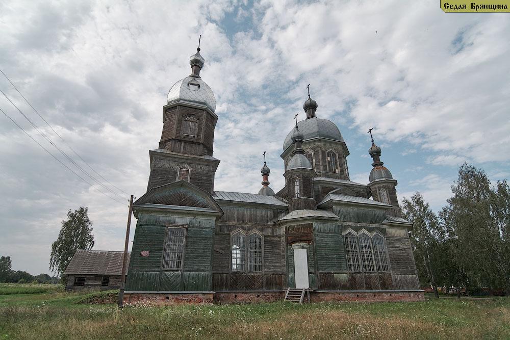 Елионка. Церковь Георгия Победоносца