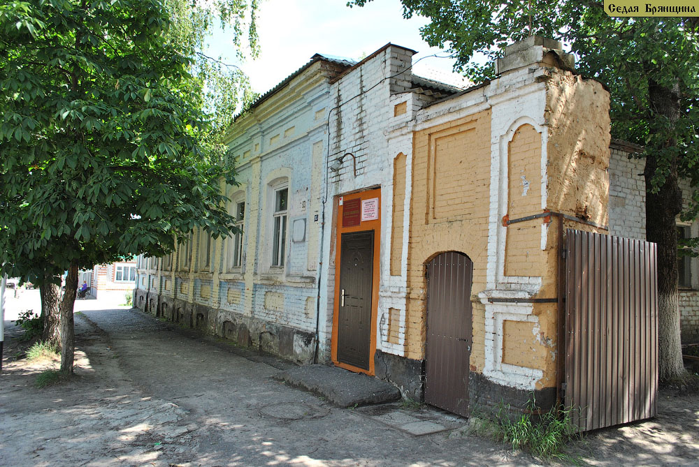 Трубчевск. Усадьба городская Курындина (XIX век)