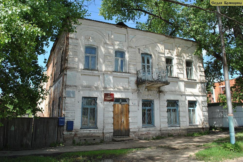 Трубчевск. Дом жилой Кравцова (XIX век)