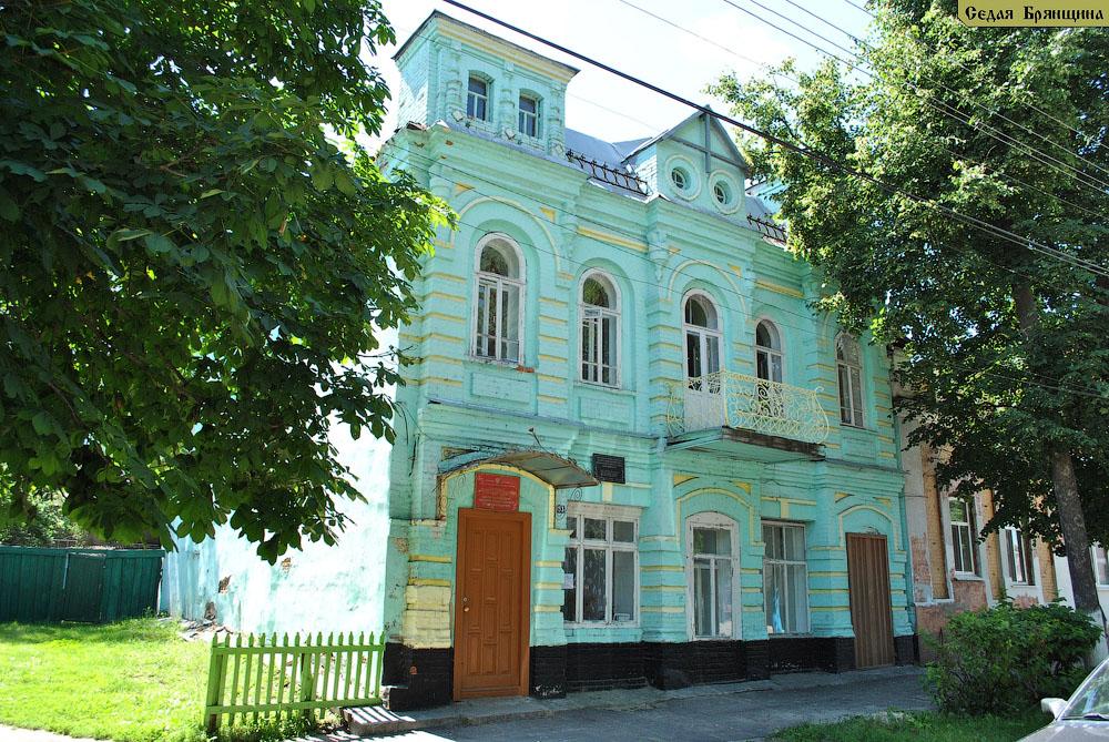 Трубчевск. Казначейство и дом Сухобокова (XIX век)