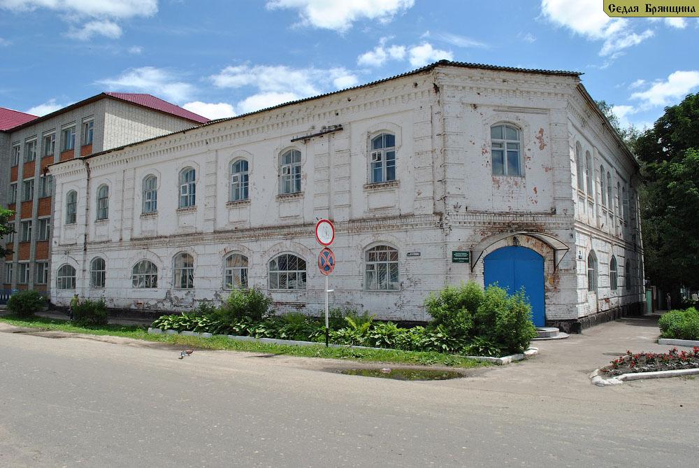 Трубчевск. Дом Соколова и женская гимназия (XIX век)