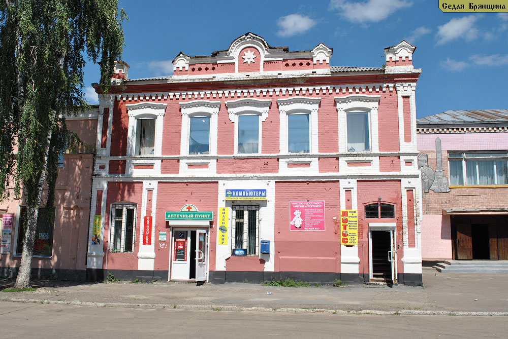 Трубчевск. Дом Филькова (XIX век)