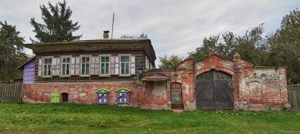 Воронок. Здания жилые и общественные