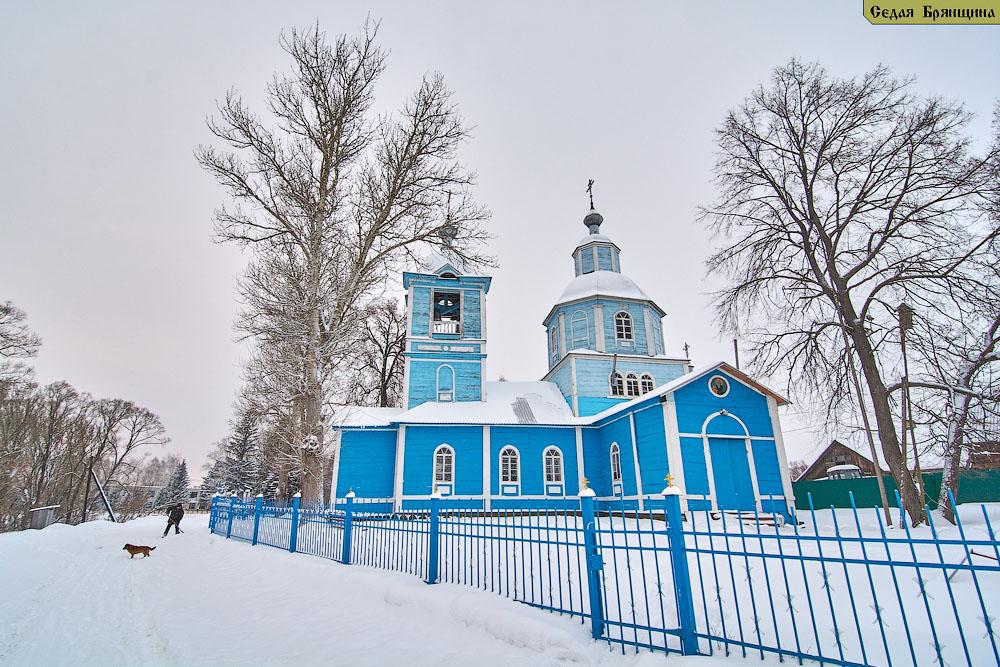 Бобрик (Комаричский р-н). Церковь Михаила Архангела