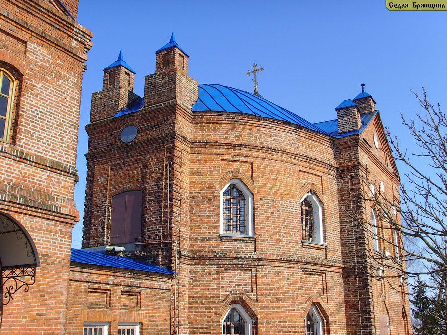 Творишичи. Церковь Спаса Преображения