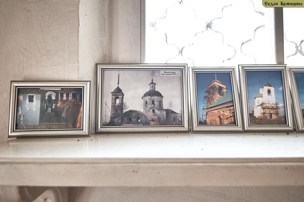 Мирковы Уты. Церковь Сергия Радонежского (апрель 2013)