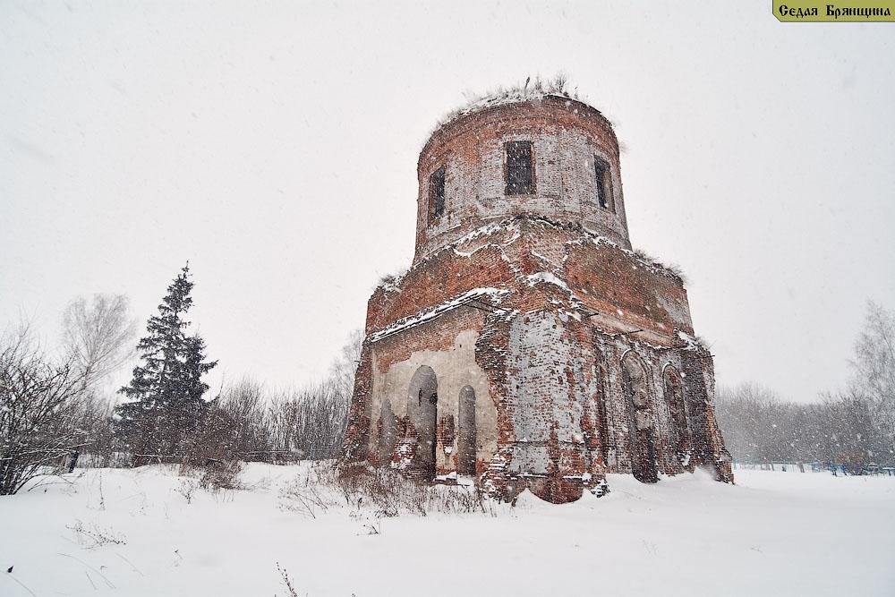 Асовица. Церковь Рождества Христова (февраль 2017)