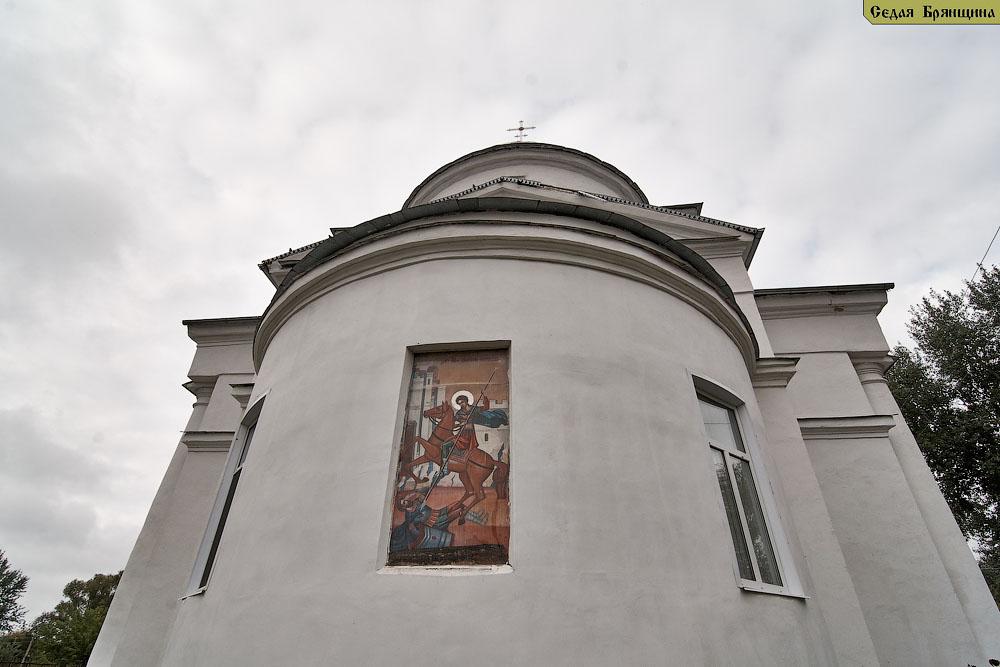 Дареевск. Церковь Димитрия Солунского
