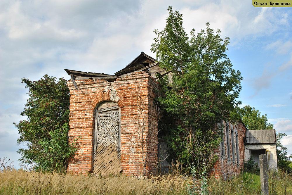 Юшина. Церковь Владимирской иконы Божией Матери