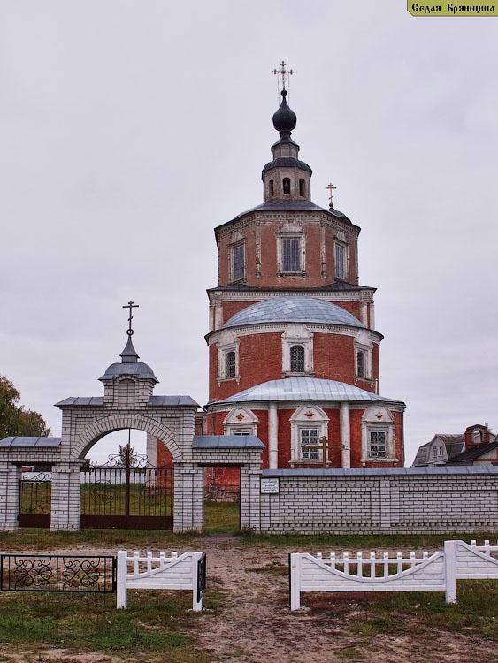 Бережок. Церковь Воскресения Словущего