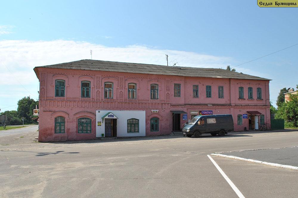 Рогнедино. Здания жилые и общественные