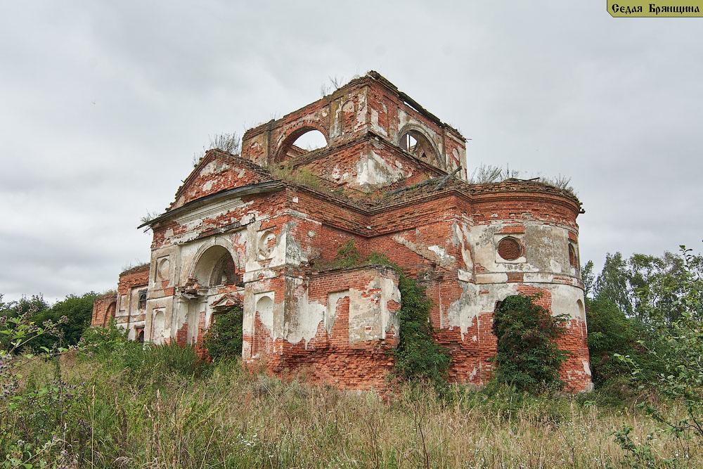 Серовка. Церковь Михаила Архангела