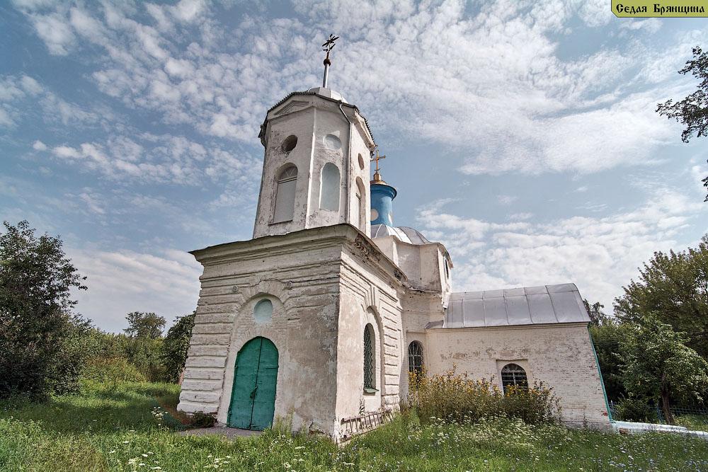 Задубенье. Церковь Димитрия Солунского