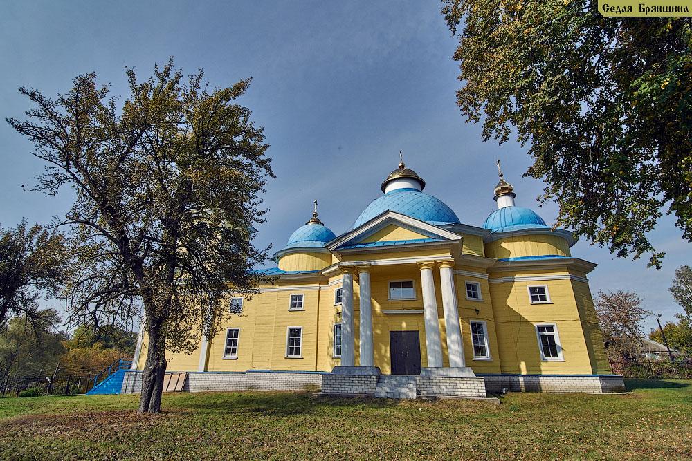 Балыкино. Церковь Николая Чудотворца