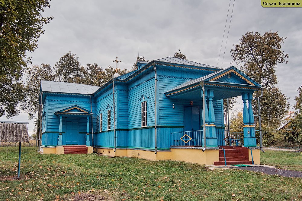 Душкино. Церковь Рождества Пресвятой Богородицы
