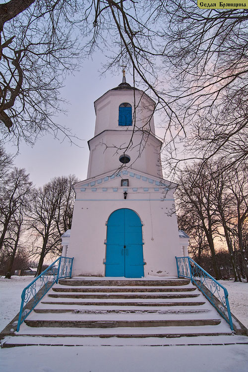 Курчичи. Церковь Воздвижения Креста Господня