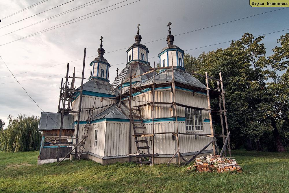 Старый Ропск. Церковь Рождества Пресвятой Богородицы