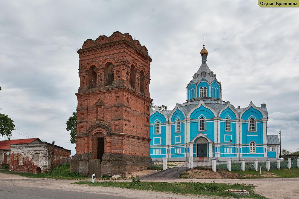 Сачковичи. Церковь Покрова Пресвятой Богородицы