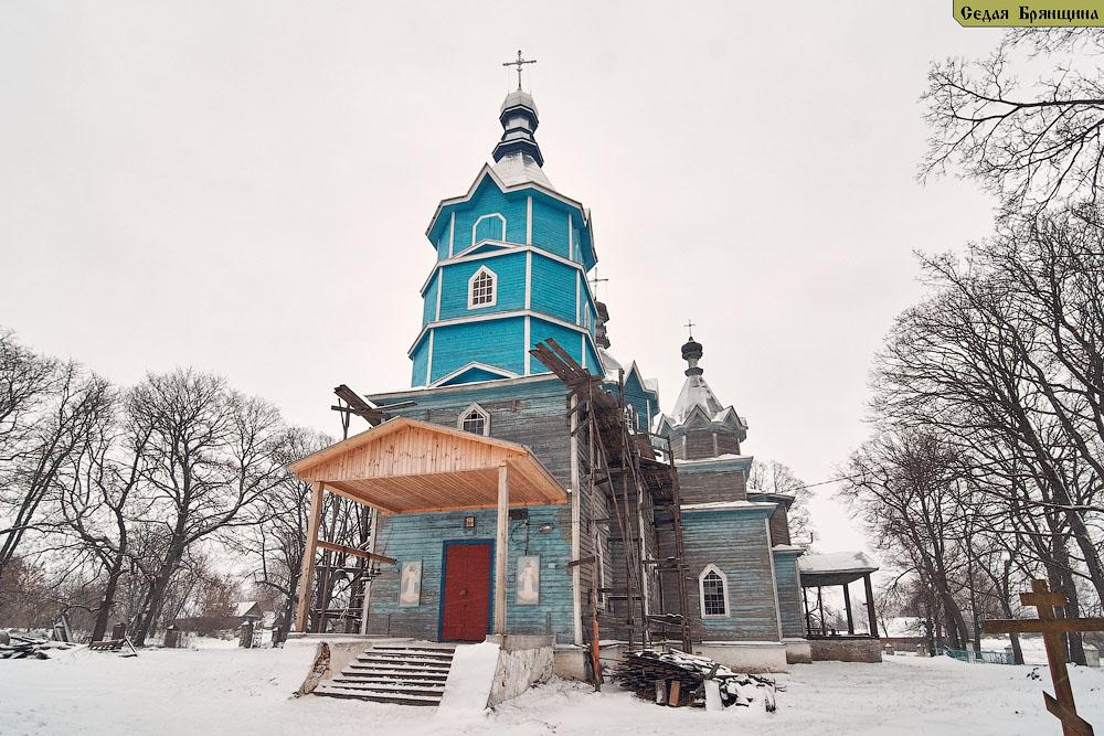 Душатин. Церковь Василия Великого