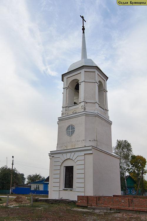 Усох. Церковь Николая Чудотворца