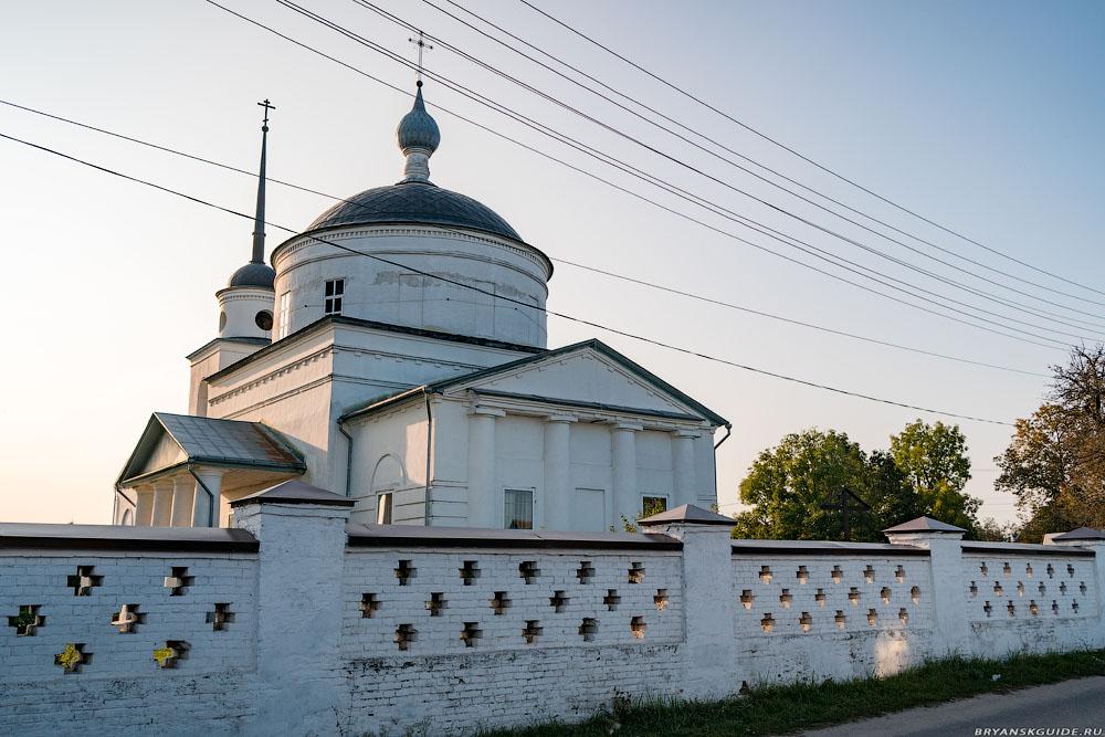 Супонево. Церковь Спаса Нерукотворного Образа