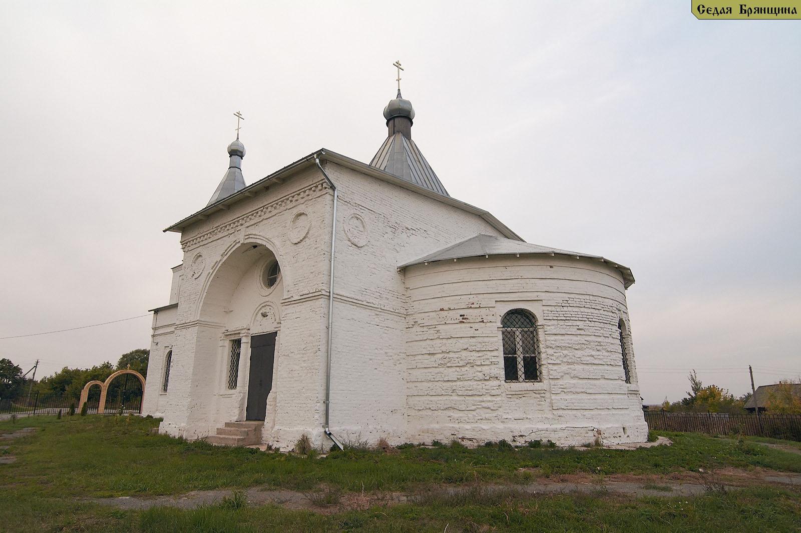 Любожичи. Церковь Воскресения Христова (сентябрь 2014)