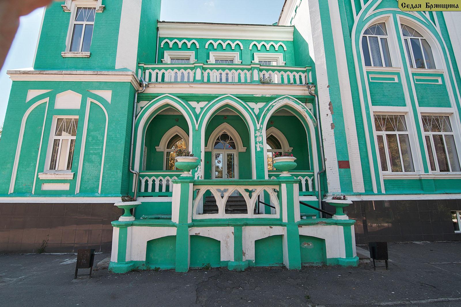 Вьюнка. Усадьба Сапожкова